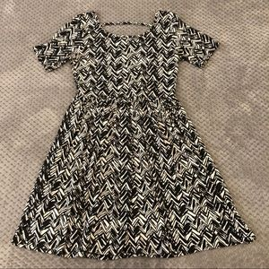 Forever 21 Pattern Flowy Dress